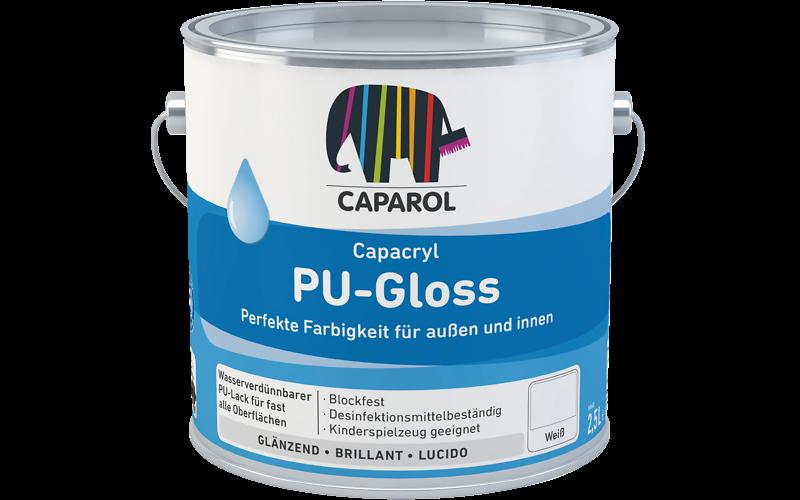 Capacryl PU-Gloss, PU-Satin